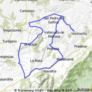 Puebla Pedraza-Rebollo-Sotosalbos-Pedraza