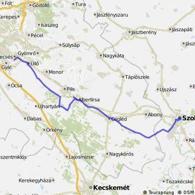 Szolnok(Tiszaliget) - Vecsés 2009.07.12.