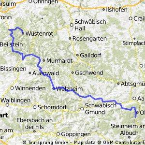 Oko - Welzheim-Murrhardt-Oppenweiler-Löwenstein-Wüstenrot