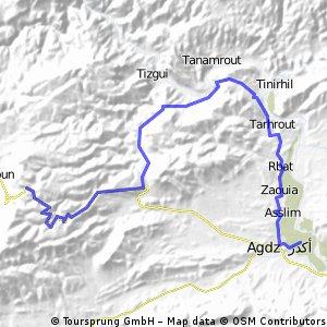 Dag 2B: Van de Anti Atlas pas naar Agdz