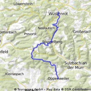 Oppenweiler - Wüstenrot