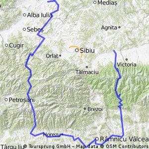 carta SB-transfagarasan-curtea AG-rm. valcea-transalpina-jina-blaj