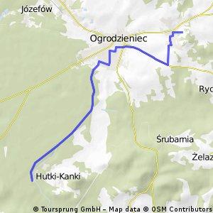 Cykliczny Ogrodzieniec - trasa 1
