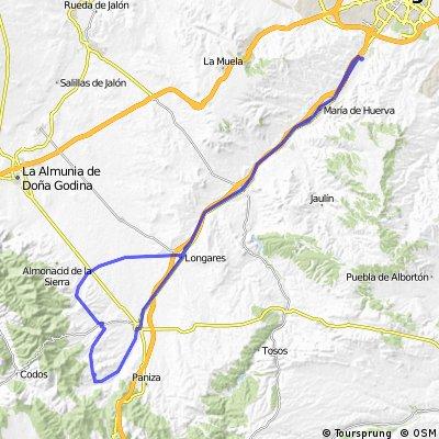CUARTE-COSUENDA-ENCINACORBA-CARIÑENA-.CUARTE