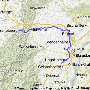 Entzheim(Flughafen Strassbourg) - Lutzelbourg