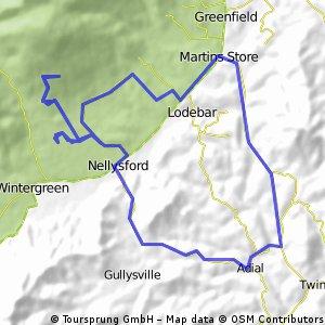Black Walnut climb - Adial Rd loop