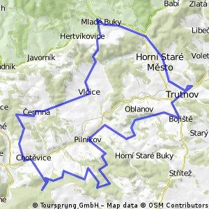 Okruh přes Čermnou,Sv.Kateřinu a Dolce