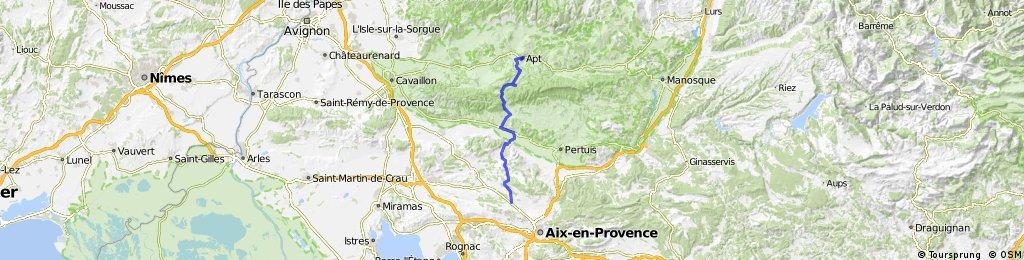 Apt - Aix en Provence