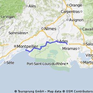 VeloPokerTour2014 J13 Grande Motte St Martin de Crau