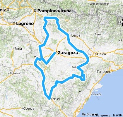 Brevet Randonneur 1000K Zaragoza 2014