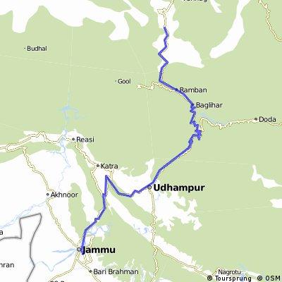 V1D13 Banihal to Jammu