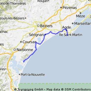 VeloPokerTour2014 J11 Gruissan Cap d'Agde