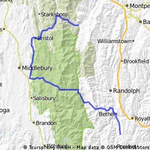 Vermont Jour #4 Woodstock / Stowe (montagne)