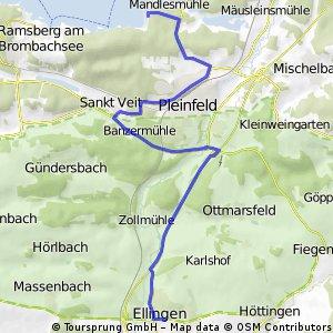 Rad Rundreise zum Altmühlsee u.z.