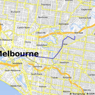 Flinders Street To Home