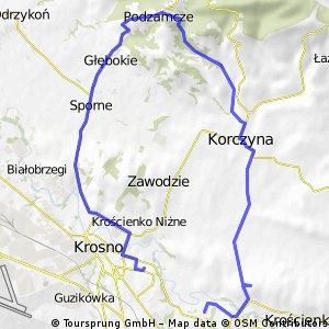 Trasa nad potokiem Morcinek