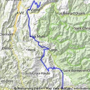 7. Etappe Gap-Chamrousse