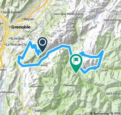 8. Etappe Chamrousse - Le Bourg d'Oisans