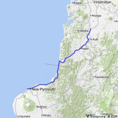 09. New Plymouth-Otorohanga