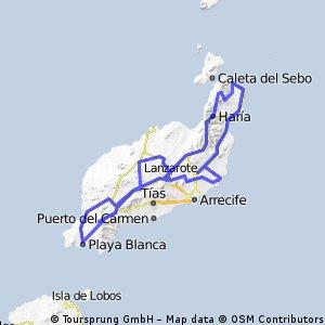 Lanzarote Kaisertour