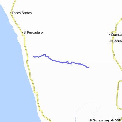 El Pescadero - Sierra Laguna