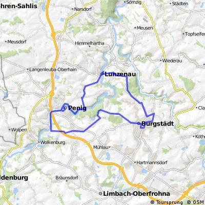 2 - Bilz-Route rund um Burgstädt, Lunzenau und Penig