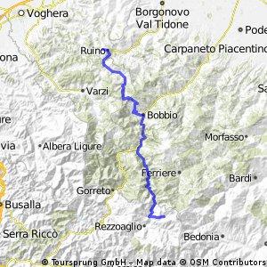 RUINO/POMETO - S.STEFANO D'AVETO