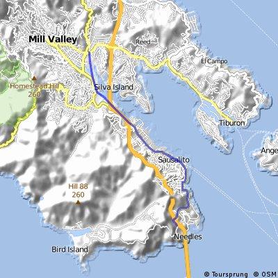 NDeL: NE GGB to NE Marin Bike Path
