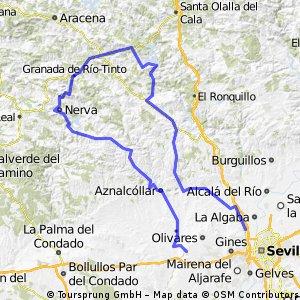 Sanlucar  to Seville