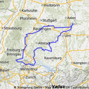 Radausfahrt 2014 - Schwäbische Alb Umrundung