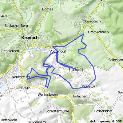 Auf den Höhenzügen rund ums Fischbachtal