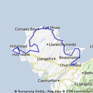 1.Bangor - Holyhead