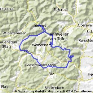 Madenburg und westwärts