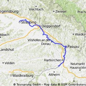 5. Etappe Aken-Mayrhofen