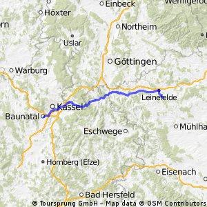 2006 1. Tag Tour de Jumalge Baunatal- Vrchlabi