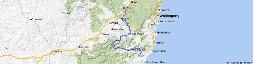 Southern Highlands Offroad Tour (Yerinbool to Berry)