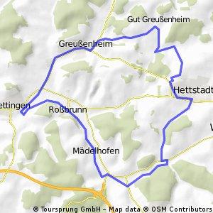 Hettstadt-Greußenheim-Uettingen-Mädelhofen-Hettstadt