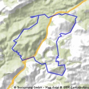 GR217-Pozuelo-Buenavista-Sereno 12/04/09 CLONED FROM ROUTE 151493