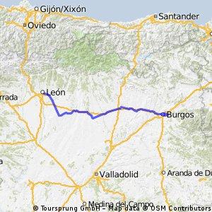 Leon - Burgos