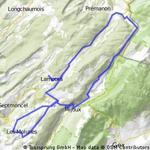 Lamoura - Mijoux - Molunes