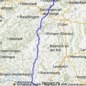 Schwäbisch Gmünd - Bodensee