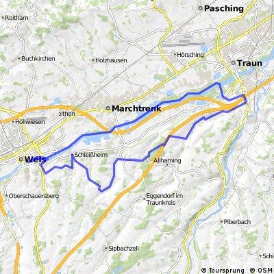 Marchtrenk-Haid-Thalheim-retour