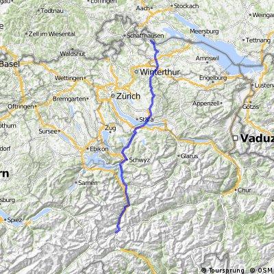 Stein am Rhein - Hospental (Milano Part II)