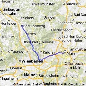 Frankfurt  Polizeipräsidium-Bad Camberg