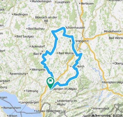 Oberschwäbische Barockstrasse Tour 1 A 2018