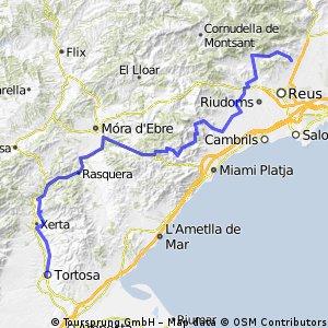 Day 2 Final Tortosa - Selva