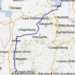 3.Etappe Lingen-Reitland