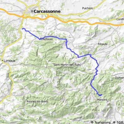 01 - trip Corbières 2 jours