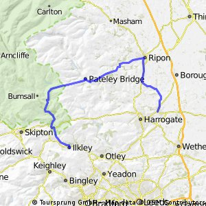Ilkley to Knaresborough
