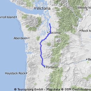 STP Seattle to Portland Bicycle Classic Bikemap Your bike routes